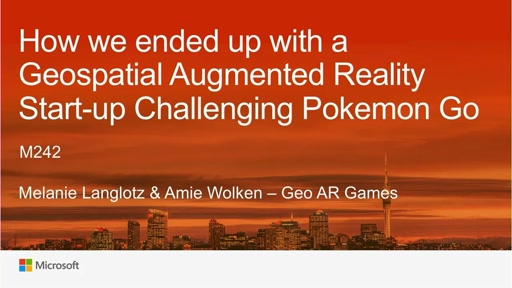 How we ended up with a Geospatial Augmented Reality Start-Up challenging Pokemon GO