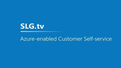 Azure-enabled Customer Self-service