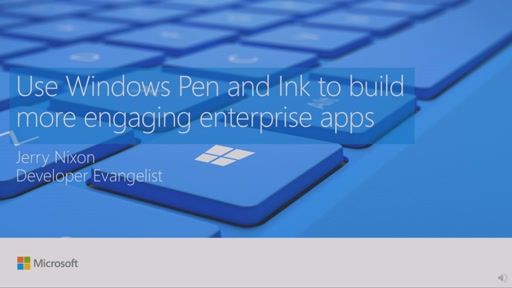 Use Windows Pen and Ink to build more engaging enterprise apps