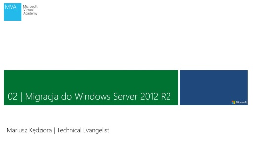 02 | Migracja do Windows Server 2012 R2