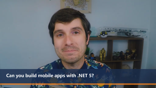 Can I build mobile apps with .NET 5? | One Dev Question