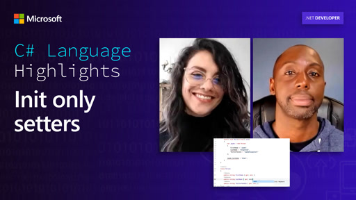 C# Language Highlights: Init only setters