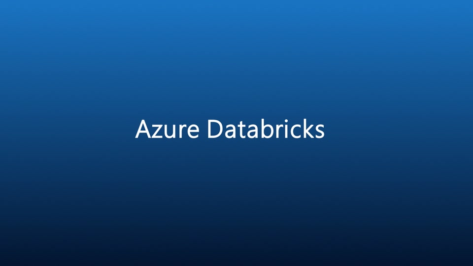 Introduction to Azure Databricks