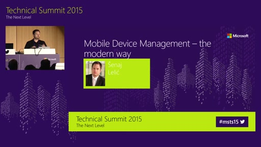 Mobile Device Management - The modern Way