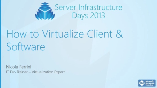 HV01 - Desktop Virtualization