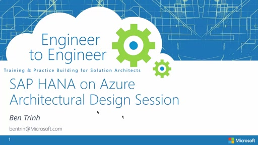 SAP HANA on Azure Architecture Design