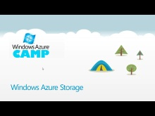 Windows Azure Camp Online: Storage