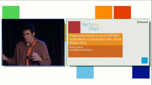 Diagnosing issues in your ASP.NET applications in production with Visual Studio 2012