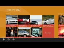Windows 8 Charms Developers with New Touch Experiences