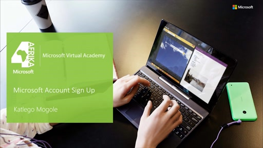 Microsoft Account Sign Up