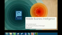 Mobile Business Intelligence with SharePoint