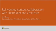 Learn how SharePoint is reinventing content collaboration: vision and roadmap updates