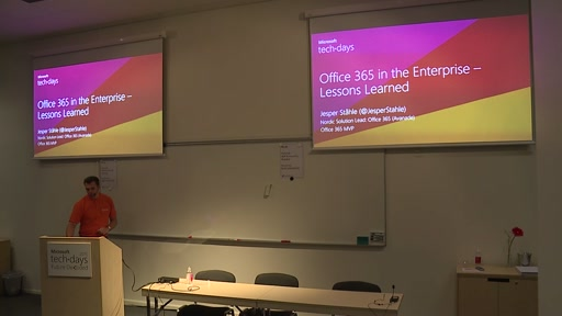 Office 365 in the Enterprise – Lessons Learned