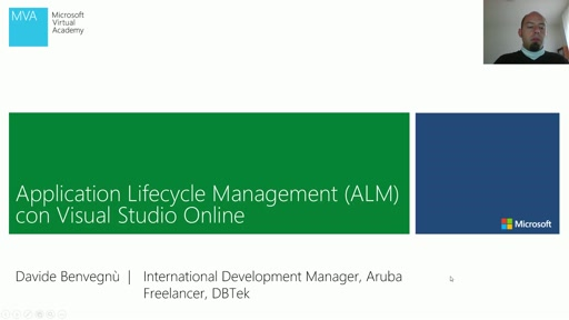 Application Lifecycle Management (ALM) con Visual Studio Online - Video 2