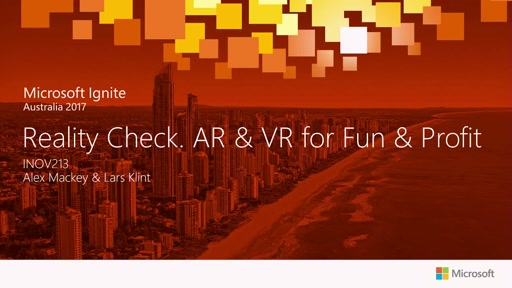 Reality Check. AR & VR for Fun & Profit