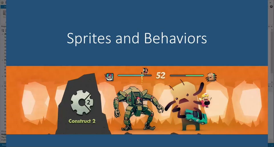 Gaming in the Cloud (5) - Sprites and Behaviors