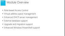 (Module 2) What's New in Windows Server 2012 R2 IPAM