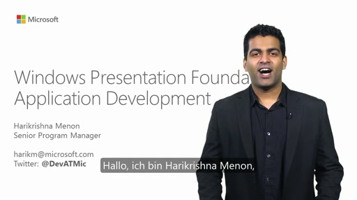 Windows Presentation Foundation (WPF)-Anwendungsentwicklung