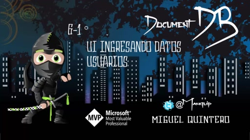 #48 NinjaTips | DocumentDB | #7 Usuarios