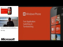 Dev04 - Windows Phone 7.5 Fast Application Switching, Tombstoning and Multitasking