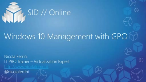 Windows 10 Management with GPO
