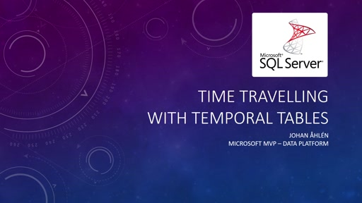 Time Travelling with Temporal Tables