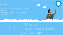 What is BizSpark?