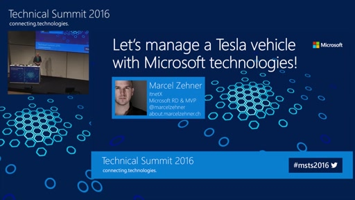 Let's manage a Tesla vehicle with Microsoft solutions!