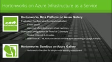 Big Data in the Clouds with Hortonworks and Microsoft Azure