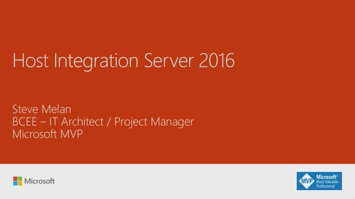 Host Integration Server 2016