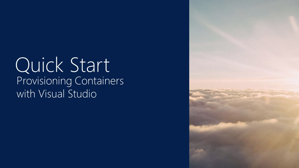 how to start server from visual studio