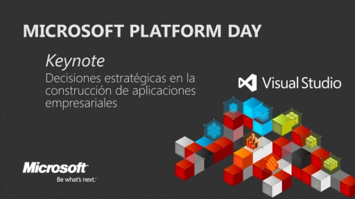 Microsoft Platform Day: Keynote Strategic Decisions for LOB Applications