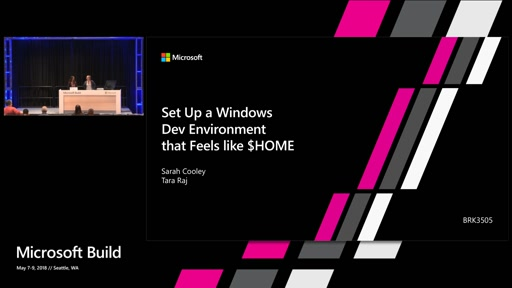 Set up a windows dev environment that feels like $HOME