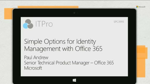 Simple Options for Identity Management with Office 365