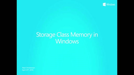 Storage-Class-Memory-and-impact-of-file-system-filters