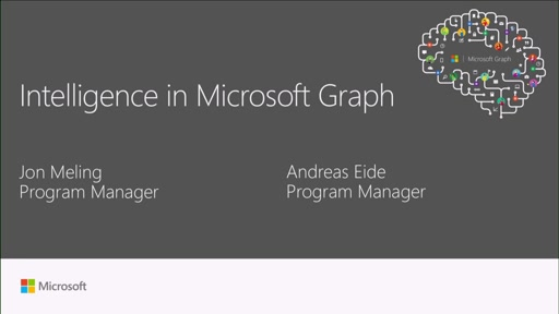 Access intelligence in the Microsoft Graph and API