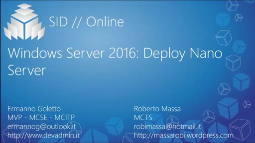 Windows Server 2016 Deploy Nano Server