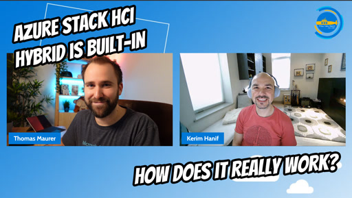 OPS112 - Azure Stack HCI Hybrid is built-in: How does it really work?