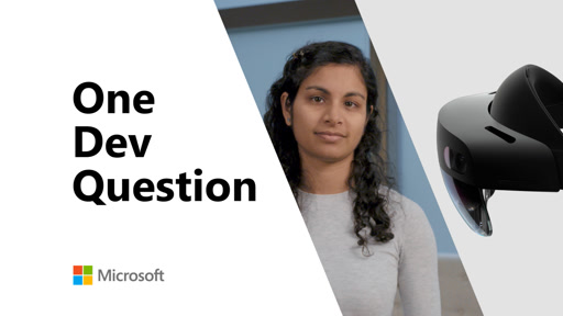 What can I build today with Azure Mixed Reality Services? | One Dev Question