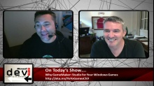 Microsoft DevRadio: Why GameMaker: Studio for Your Windows Games