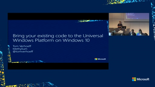 Bringing your existing code to the Universal Windows Platform on Windows 10