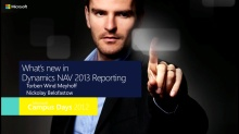 NAV 2013 Report Design and report transformation