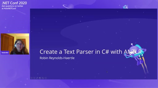Create a Text Parser in C# with ANTLR