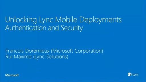 Securing external and mobile access in Lync 2013