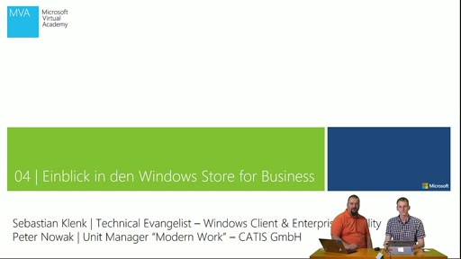 04 | Einblick in den Windows Store for Business