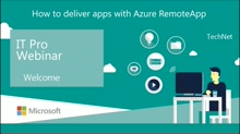 How to deliver apps with Azure RemoteApp