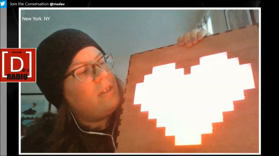 Making the Internet of Things - TweetHeart - A NeoPixel Heart that is Twitter Sensitive