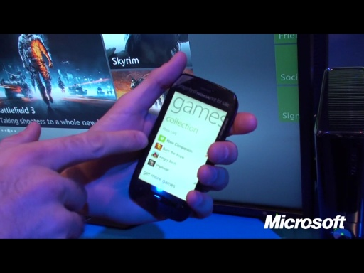 Live from Nokia World 2011:  Demo of the Xbox Companion App