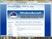 Développer une application Windows Azure en Java avec Eclipse