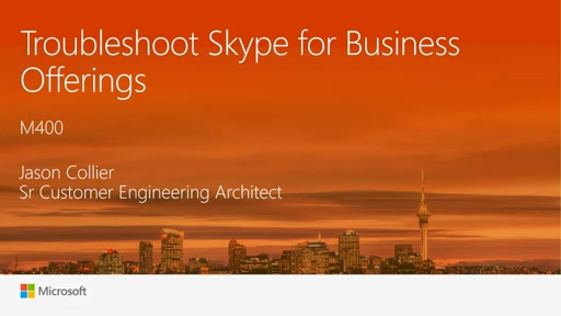 Troubleshoot new Skype for Business offerings